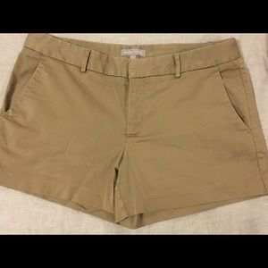 Khaki short size 12 petite Banana Republic